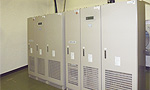 無停電電源設備(UPS:Uninterrruptible Power Supply) 写真